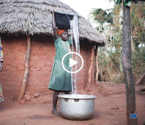 Le programme d'accès à l'eau potable et assainissement du l'union européenne
