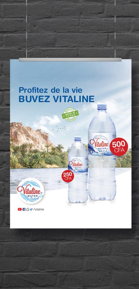Campagne 360° pour Vitaline